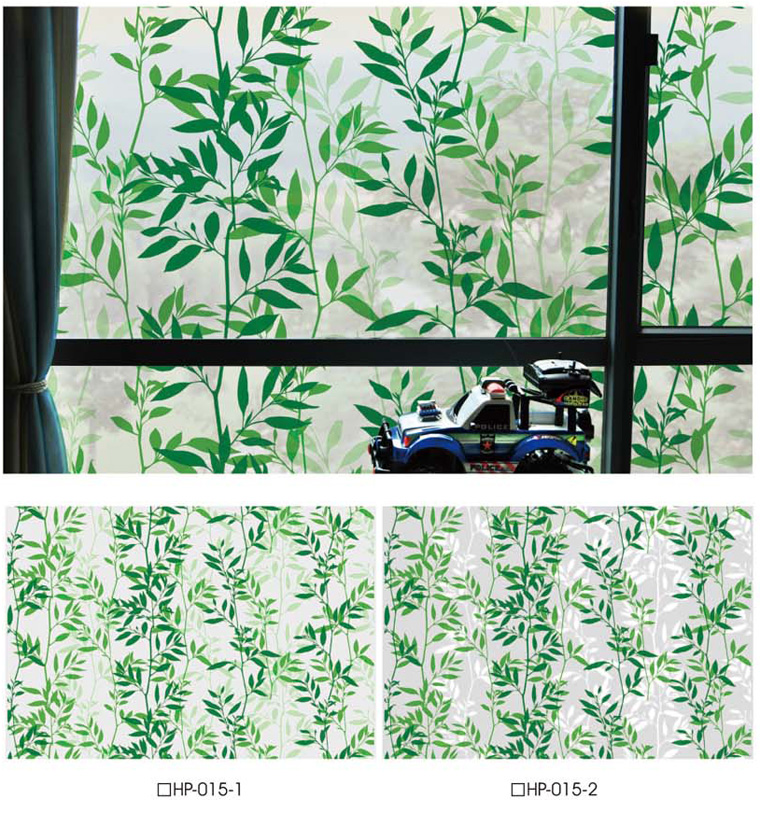 Static Window Film - Printed Static Film - HP-015