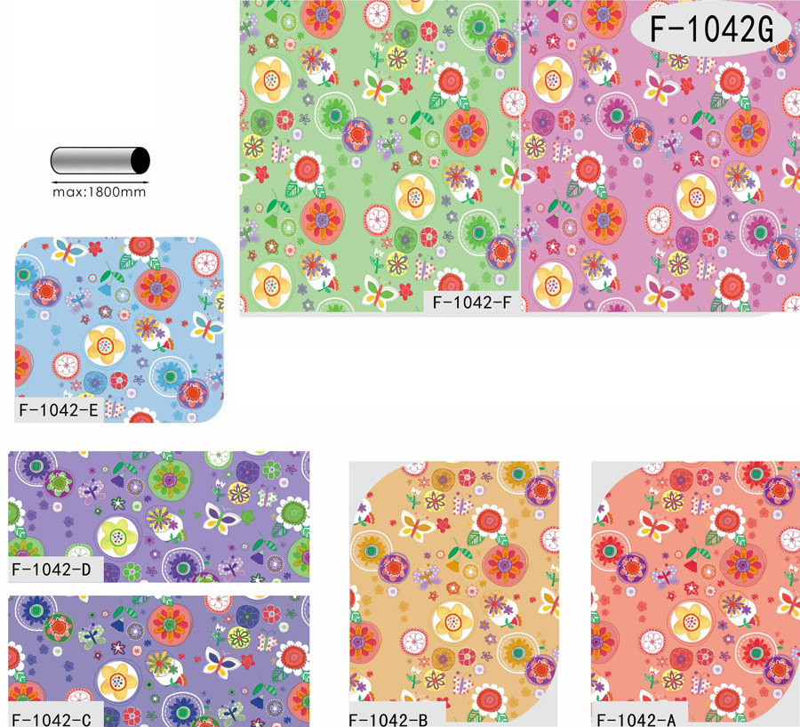 Table Cover - Printed Table Cover - Flowers Series Table Cover - F-1042