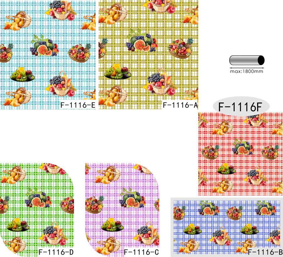 Table Cover - Printed Table Cover - Fruits Series Table Cover - F-1116