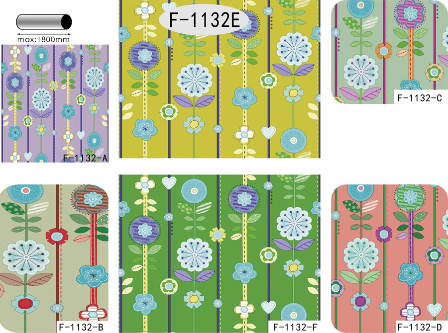 Table Cover - Printed Table Cover - Flowers Series Table Cover - F-1132