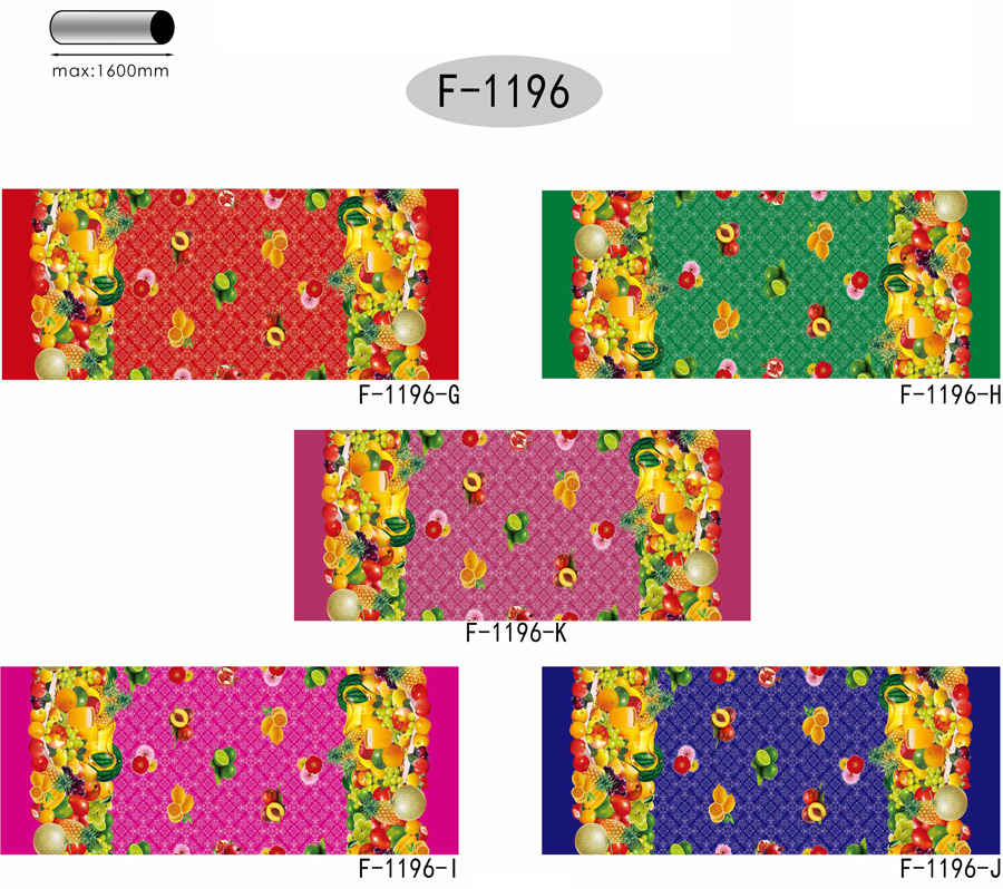 Table Cover - Printed Table Cover - Fruits Series Table Cover - F-1196-2