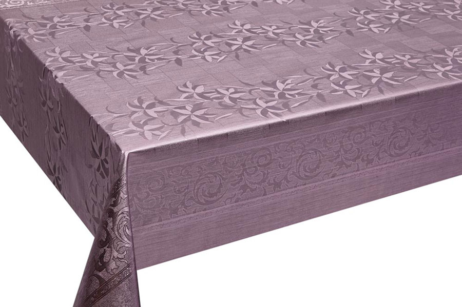 Table Cover - Gold Or Silver Table Cover - Emboss With Spunlace Backing Table Cover - F5003-5