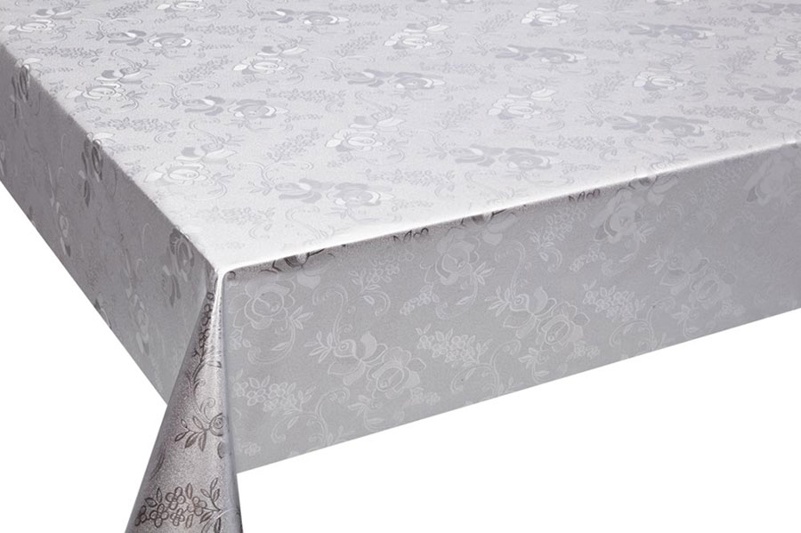 Table Cover - Gold Or Silver Table Cover - Emboss With Spunlace Backing Table Cover - F5010-1