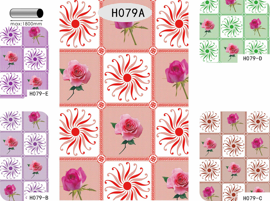 Table Cover - Printed Table Cover - Flowers Series Table Cover - H079