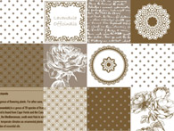 Table Cover - Printed Table Cover - Europe Design Table Cover - TL119-2