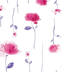Table Cover - Printed Table Cover - Flowers Series Table Cover - F-1015