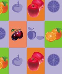 Table Cover - Printed Table Cover - Fruits Series Table Cover - F-1045