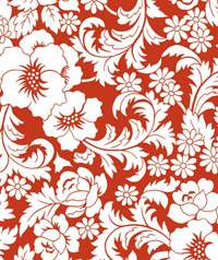 Table Cover - Printed Table Cover - Flowers Series Table Cover - F-1049