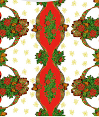 Table Cover - Printed Table Cover - Christmas Series Table Cover - F-1109