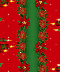 Table Cover - Printed Table Cover - Christmas Series Table Cover - F-1113