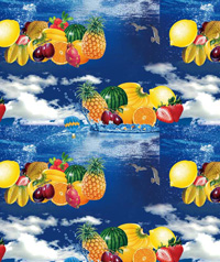 Table Cover - Printed Table Cover - Fruits Series Table Cover - F-1114