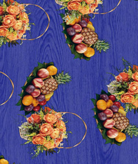 Table Cover - Printed Table Cover - Fruits Series Table Cover - F-1118