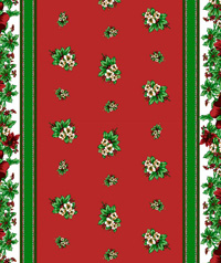 Table Cover - Printed Table Cover - Christmas Series Table Cover - F-1122