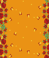 Table Cover - Printed Table Cover - Christmas Series Table Cover - F-1123