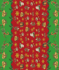 Table Cover - Printed Table Cover - Christmas Series Table Cover - F-1136