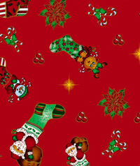 Table Cover - Printed Table Cover - Christmas Series Table Cover - F-1139