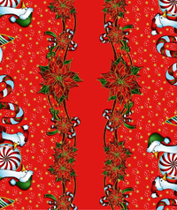 Table Cover - Printed Table Cover - Christmas Series Table Cover - F-1141