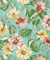 Table Cover - Printed Table Cover - Flowers Series Table Cover - F-1143