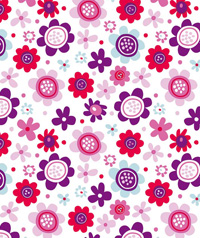 Table Cover - Printed Table Cover - Flowers Series Table Cover - F-1171