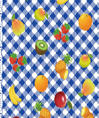Table Cover - Printed Table Cover - Fruits Series Table Cover - F-1185