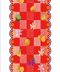 Table Cover - Printed Table Cover - Fruits Series Table Cover - F-1187