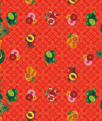 Table Cover - Printed Table Cover - Fruits Series Table Cover - F-1196-1