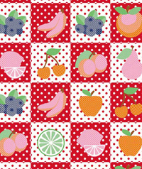 Table Cover - Printed Table Cover - Fruits Series Table Cover - F-1198
