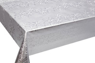 Table Cover - Gold Or Silver Table Cover - Emboss With Spunlace Backing Table Cover - F5003-1