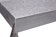 Table Cover - Gold Or Silver Table Cover - Emboss With Spunlace Backing Table Cover - F5003-4