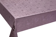 Table Cover - Gold Or Silver Table Cover - Emboss With Spunlace Backing Table Cover - F5004-5