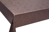 Table Cover - Gold Or Silver Table Cover - Emboss With Spunlace Backing Table Cover - F5004-6