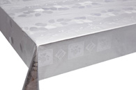 Table Cover - Gold Or Silver Table Cover - Emboss With Spunlace Backing Table Cover - F5005-1