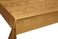 Table Cover - Gold Or Silver Table Cover - Emboss With Spunlace Backing Table Cover - F5005