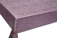 Table Cover - Gold Or Silver Table Cover - Emboss With Spunlace Backing Table Cover - F5010-5