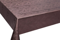 Table Cover - Gold Or Silver Table Cover - Emboss With Spunlace Backing Table Cover - F5010-6