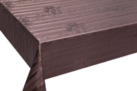 Table Cover - Gold Or Silver Table Cover - Emboss With Spunlace Backing Table Cover - F5011-6