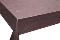 Table Cover - Gold Or Silver Table Cover - Emboss With Spunlace Backing Table Cover - F5015-6