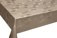 Table Cover - Gold Or Silver Table Cover - Emboss With Spunlace Backing Table Cover - F5016-3