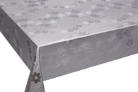 Table Cover - Gold Or Silver Table Cover - Emboss With Spunlace Backing Table Cover - F5016-4