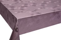 Table Cover - Gold Or Silver Table Cover - Emboss With Spunlace Backing Table Cover - F5016-5