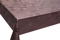 Table Cover - Gold Or Silver Table Cover - Emboss With Spunlace Backing Table Cover - F5016-6