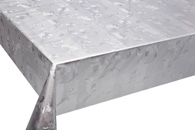 Table Cover - Gold Or Silver Table Cover - Emboss With Spunlace Backing Table Cover - F5022-1