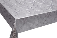 Table Cover - Gold Or Silver Table Cover - Emboss With Spunlace Backing Table Cover - F5022-4