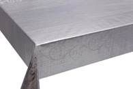 Table Cover - Gold Or Silver Table Cover - Emboss With Spunlace Backing Table Cover - F5023-4