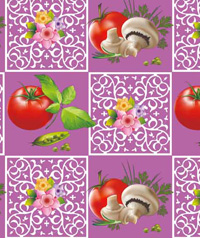 Table Cover - Printed Table Cover - Fruits Series Table Cover - H015