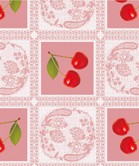 Table Cover - Printed Table Cover - Fruits Series Table Cover - H078