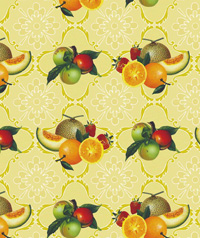 Table Cover - Printed Table Cover - Fruits Series Table Cover - H089