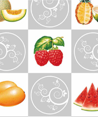 Table Cover - Printed Table Cover - Fruits Series Table Cover - FOUR005
